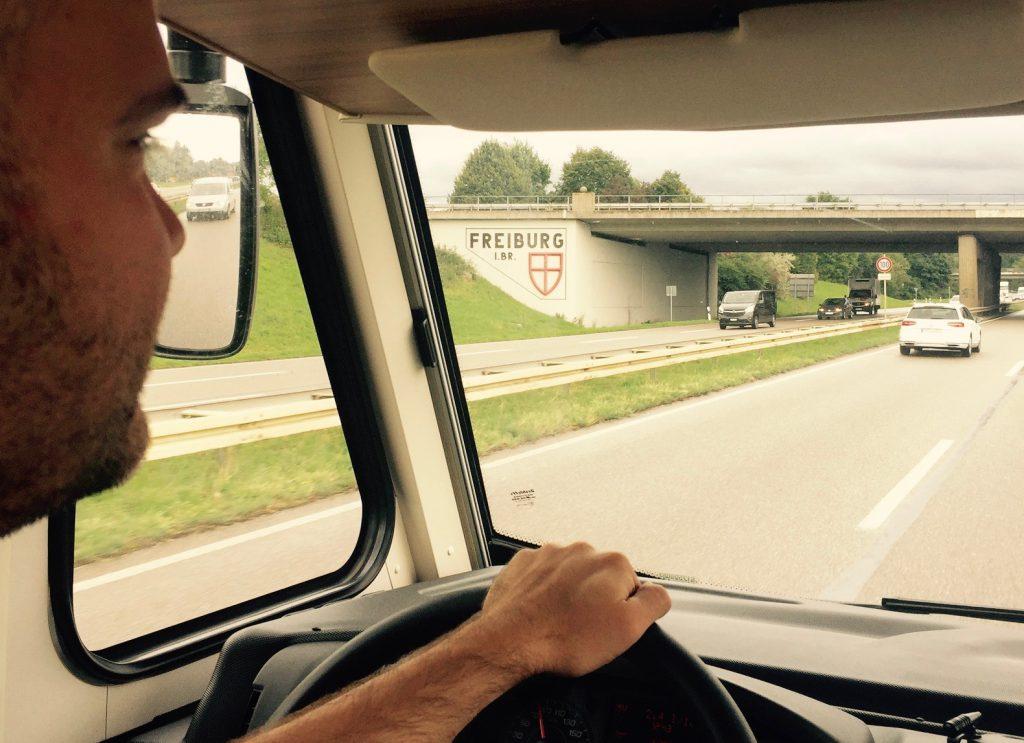 Cockpit Wohnmobilreise